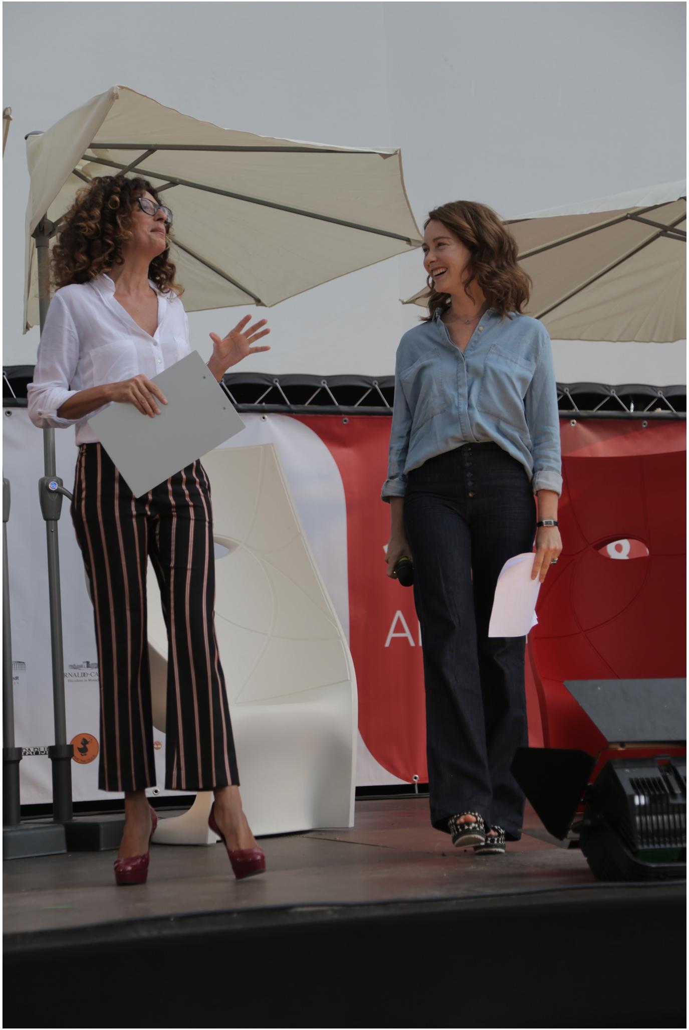 Teresa Mannino e Cristiana Capotondi